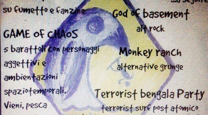 Benefit arrestati – tutt* liber* ! Aperitivo workshop e 3 concerti GIO 7