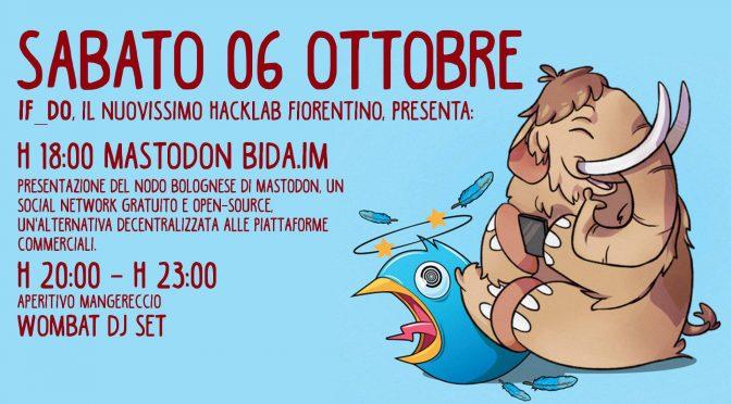 IF_DO HackLab presenta: mastodon.bida.im [SAB 6 OTTOBRE]