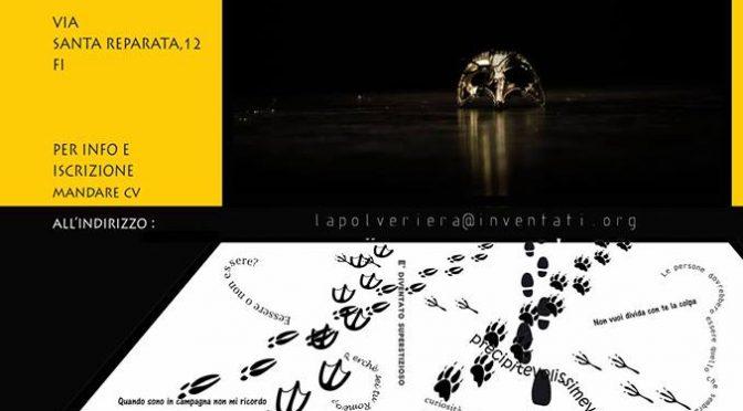 Laboratorio teatrale: l'architettura del gesto