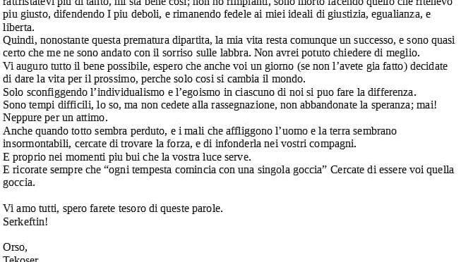 Ciao Orso