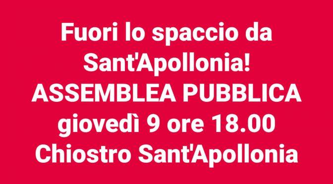 —-Violenza, mafia e profitto in sant'Apollonia: diciamo basta!—-