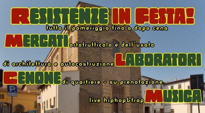 RESISTENZE in FESTA! 12 ottobre, p.zza del Carmine